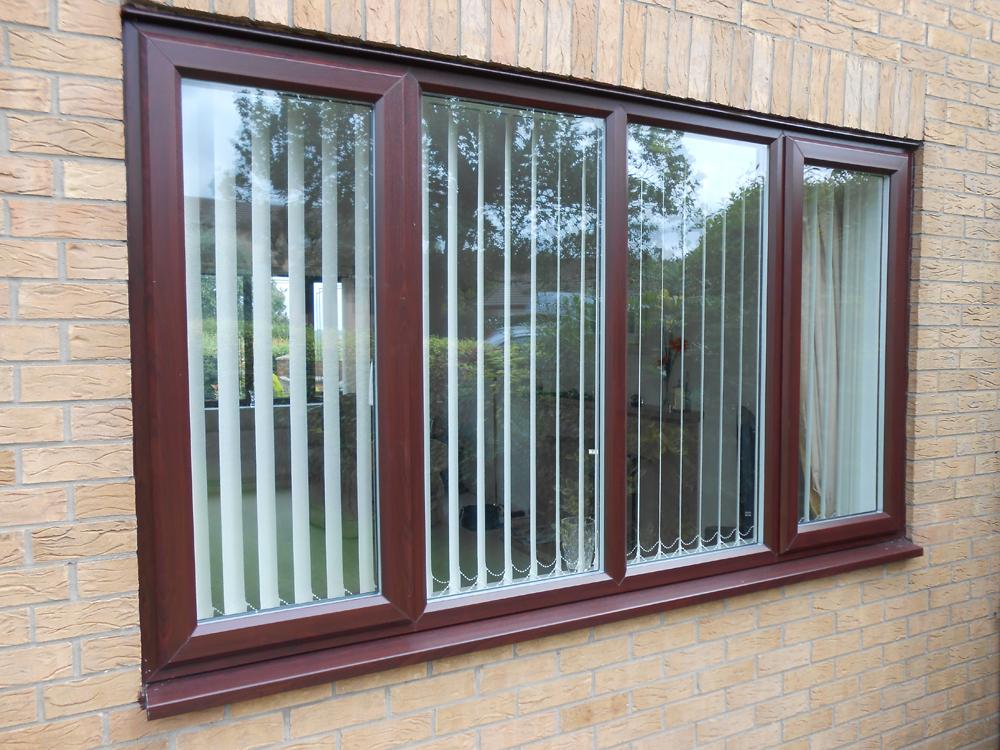Wood Grain Upvc Windows : See our ilkeston rosewood and oak woodgrain windows gallery