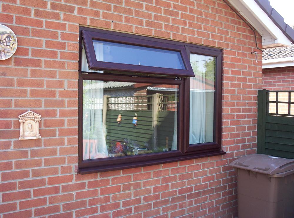 See Our Ilkeston Rosewood And Oak Woodgrain Windows Gallery