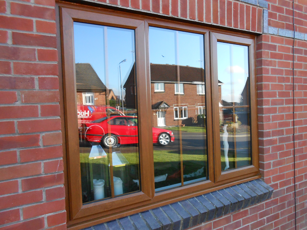 See Our Ilkeston Rosewood And Oak Woodgrain Windows Gallery